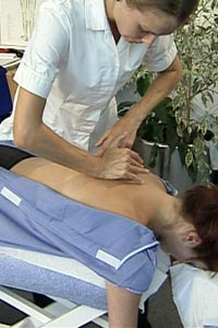 Image of a patient receiving treatment