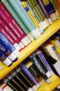 The college bookshop